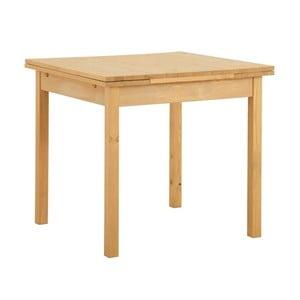 Stół rozkładany z drewna sosnowego Støraa Marlon, 80x80cm