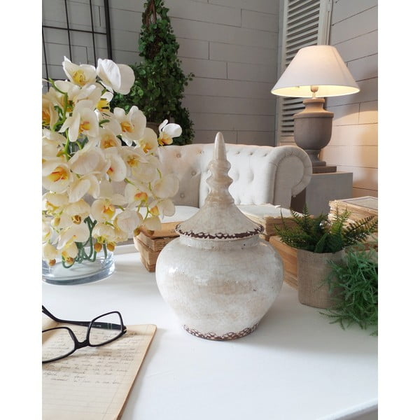 Waza Ceramic White Antique