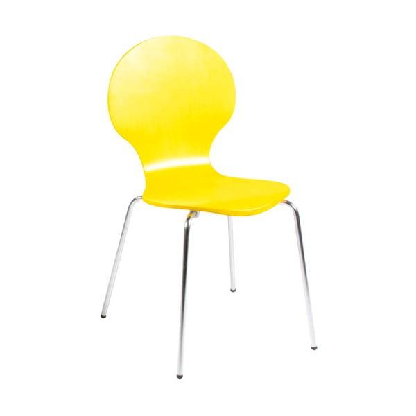 Żółte krzesło Actona Marcus