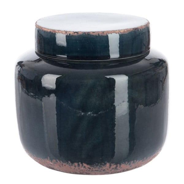 Pojemnik Dark Petrol, 21x21x20 cm