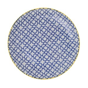 Porcelanowy talerz Geo Orient, 23,8x2,6 cm
