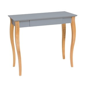 Ciemnoszare biurko Ragaba Lillo, dł. 85 cm