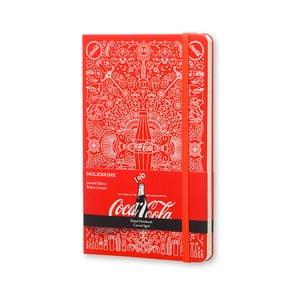 Notatnik Moleskine Coca-Cola, duży, w linie
