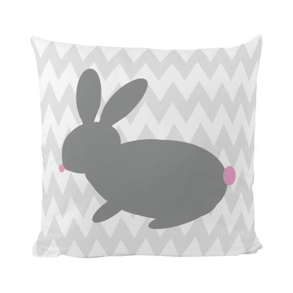Poduszka   Bunny One, 50x50 cm