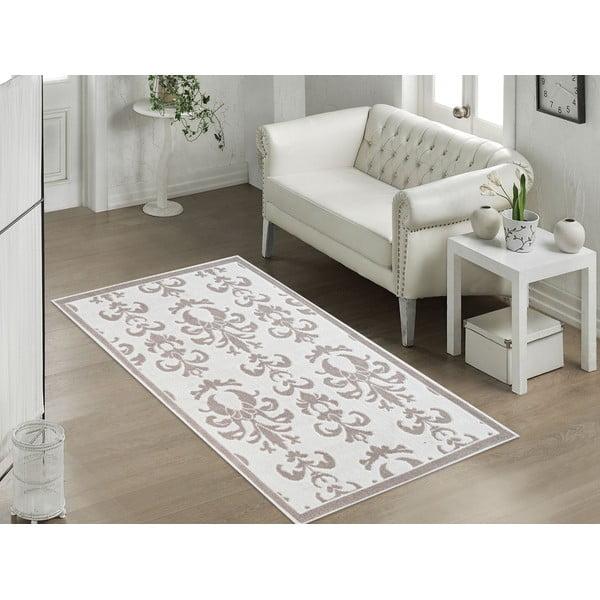 Beżowy wytrzymały dywan Vitaus Grace, 60x90 cm