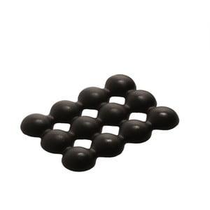 Antypoślizgowa mydelniczka Lebolle, czarna