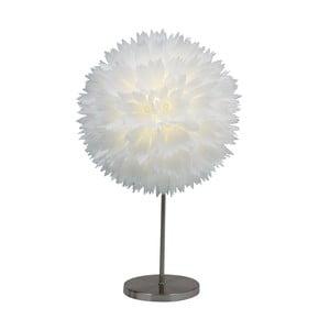 Lampa stołowa Lotus, biała