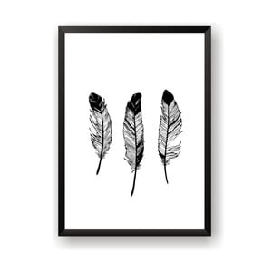 Plakat Nord & Co Feathers, 40x50 cm