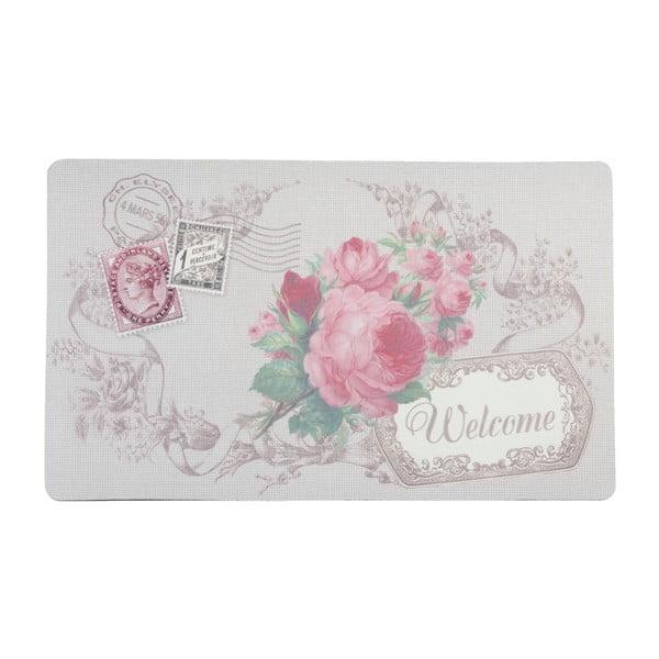 Wycieraczka Pink Rose Welcome, 74x44 cm