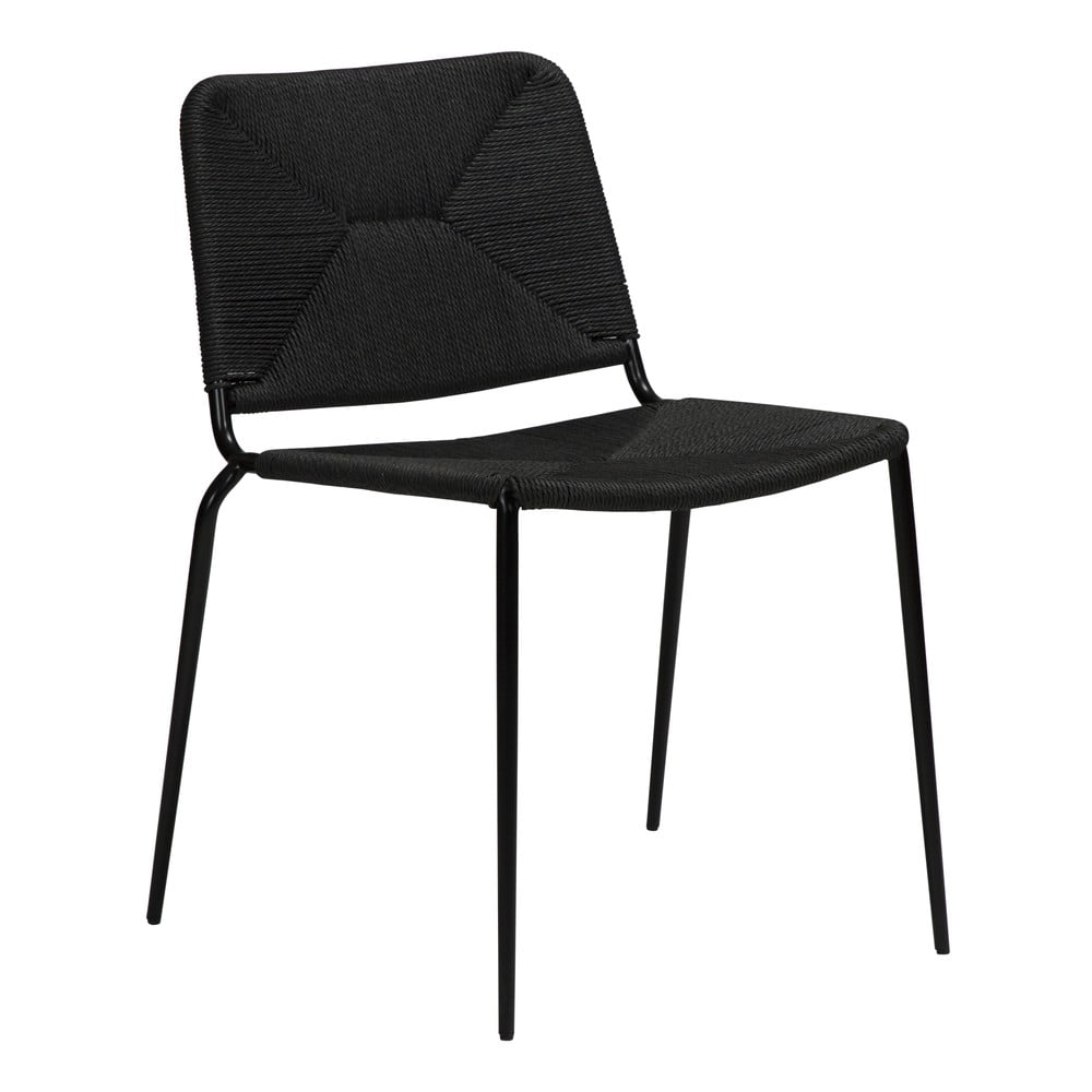 Czarne krzesło DAN-FORM Denmark Stiletto