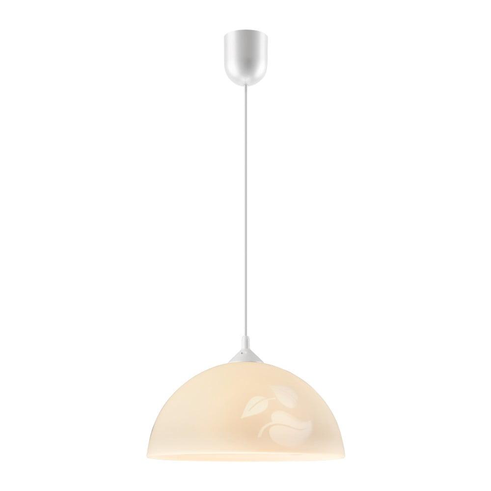 Beżowa lampa wisząca Lamkur Leaf