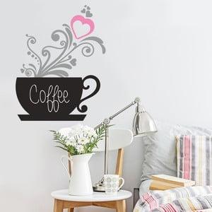 Naklejka na ścianę Kawa, 50x70 cm