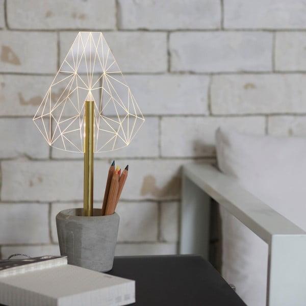 Lampka z kubeczkiem na długopisy Wired B