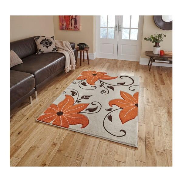 Beżowo-pomarańczowy dywan Think Rugs Verona, 60x120 cm