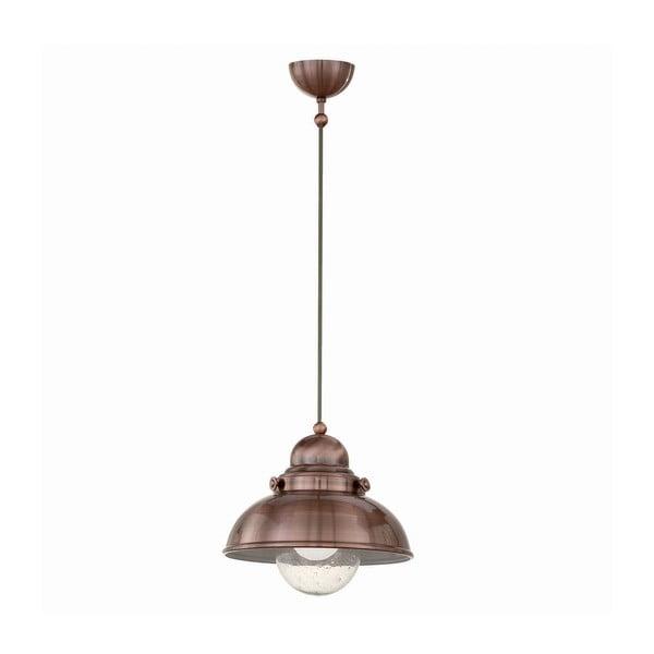Lampa wisząca Crido Loft Copper, 29 cm