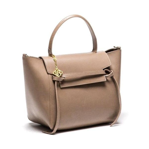 Skórzana torebka Isabella Rhea 394 Fango