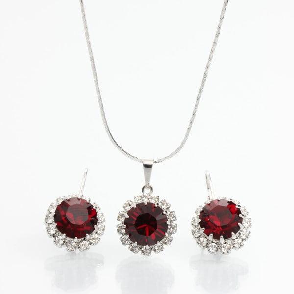 Komplet naszyjnika i kolczyków z kryształami Swarovski Elements Laura Bruni Sia