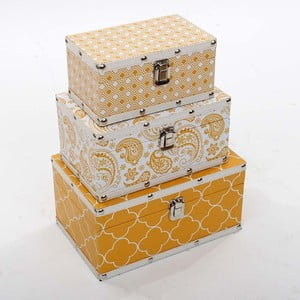 Trzy pudełka Złote Słońce