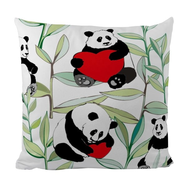 Poduszka Panda With Bamboo, 50x50 cm