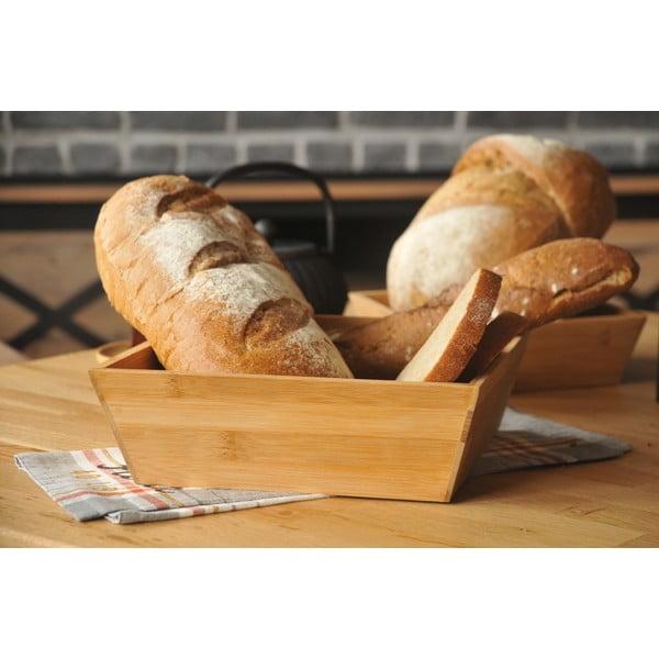 Bambusowy pojemnik na chleb Bambum Solly 24 cm