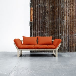 Sofa Karup Edge Natural/Orange