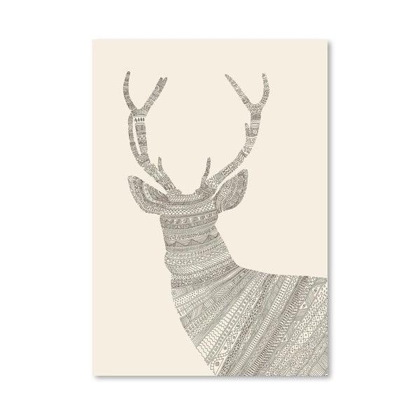 Plakat Stag, 30x42 cm