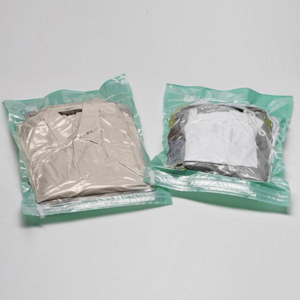Próżniowe pokrowce na ubrania Compactor Blue, rozm. L, 2 szt.