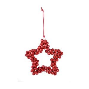 Wisząca gwiazda dekoracyjna z dzwoneczków Ego Dekor Bells