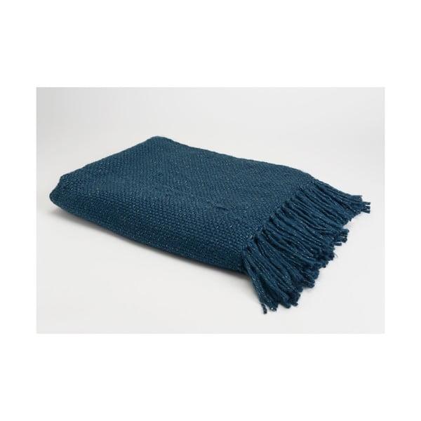 Koc Blue Stitch, 170x130 cm