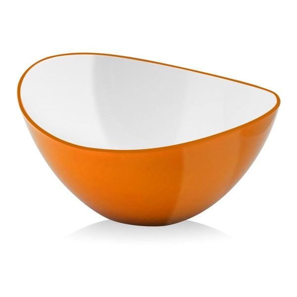 Miska do sałatek Livio, 16 cm, pomarańczowa