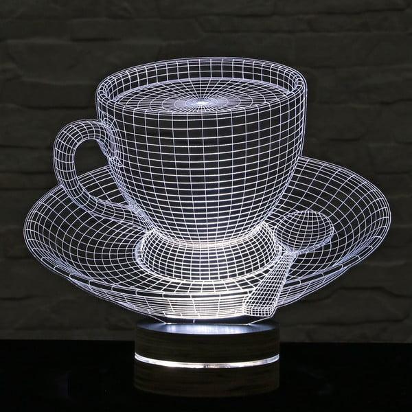 Lampa 3D stołowa Cup of Tea