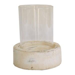 Świecznik ceramiczny Natural
