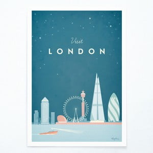 Plakat Travelposter London, A2