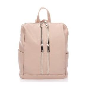 Beżowy plecak Markese Cipria