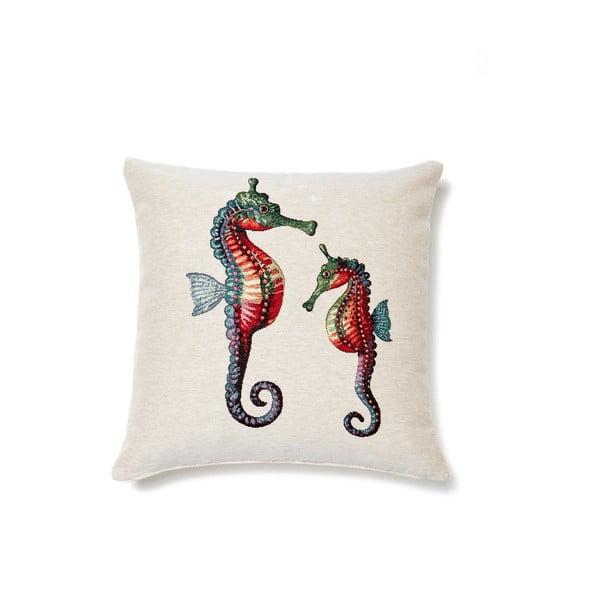Poszewka na poduszkę Casa Di Bassi Seahorses, 45x45 cm