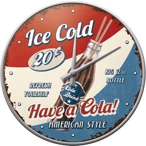 Zegar Ice Cold, 31 cm