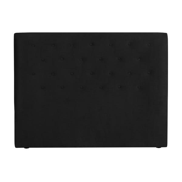 Czarny zagłówek łóżka Windsor & Co Sofas Astro, 180x120 cm