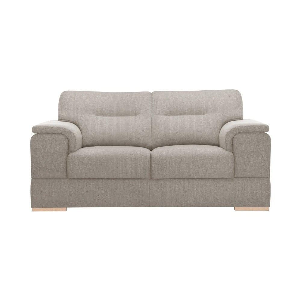 Beżowa sofa 2-osobowa Stella Cadente Maison Madeiro
