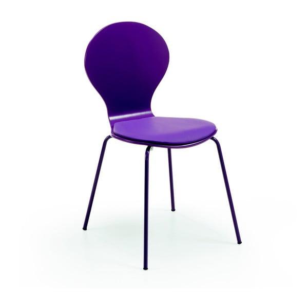 Krzesło Jazz, fioletowe