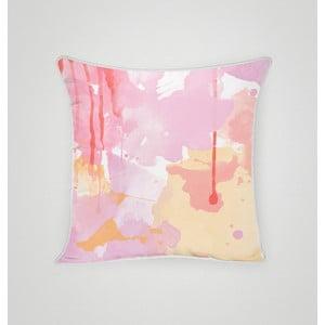 Poszewka na poduszkę Strawberry Smoothie, 45x45 cm