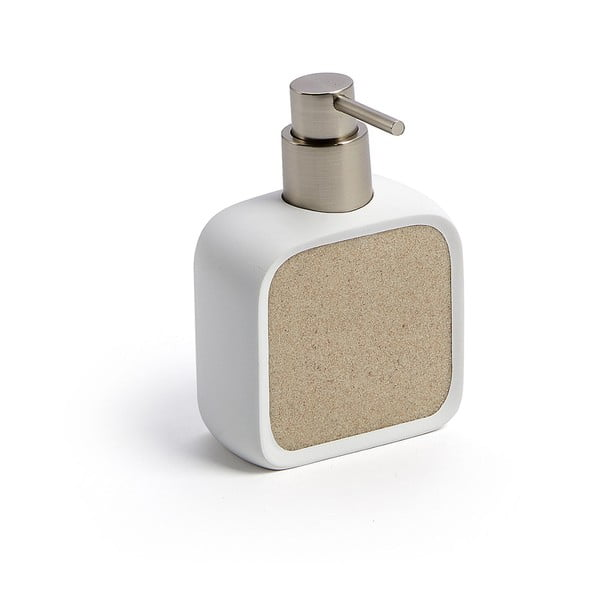 Beżowy dozownik do mydła La Forma Marwa
