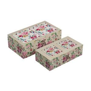 Zestaw 2 pudełek Tender Flower