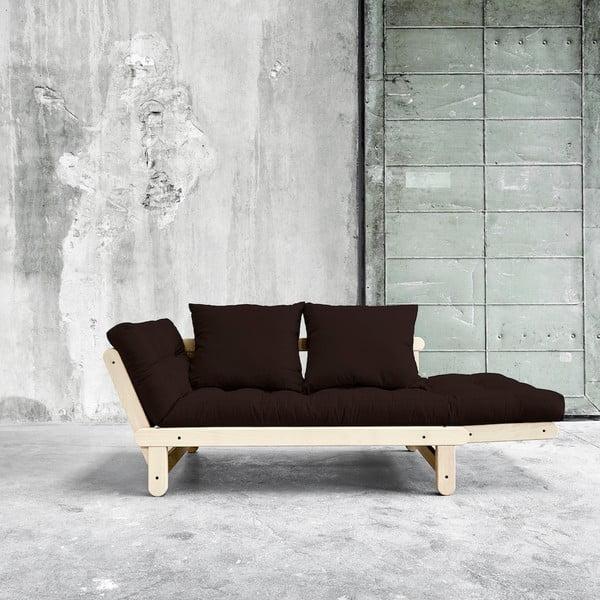 Sofa rozkładana Karup Beat Natural/Brown