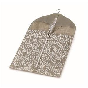 Brązowy pokrowiec na ubrania Cosatto Floral, 100 cm