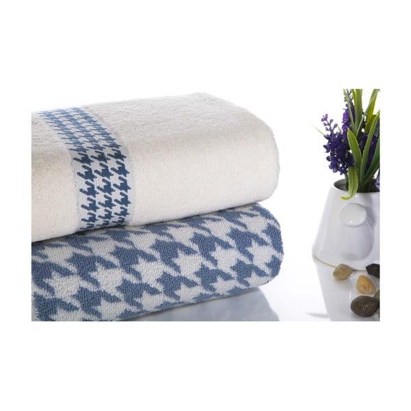Zestaw 2 ręczników Carol V4, 50x90 cm