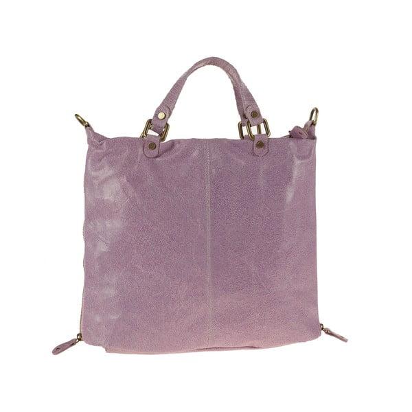 Skórzana torebka Ore Diece Affile, różowa
