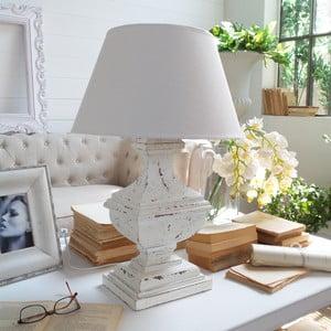 Lampa stołowa Shabby White