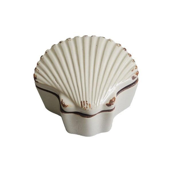 Ceramiczna szkatułka na biżuterię Shell