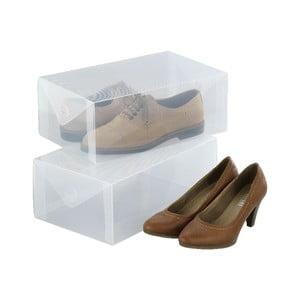 Zestaw 2 pudełek na buty Wenko Pack