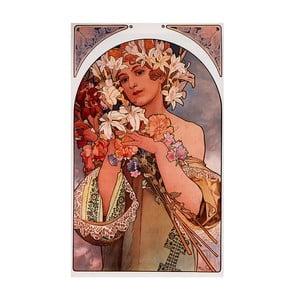 Obraz Alfonsa Muchy - Flower, 40x70 cm